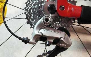 Как правильно настроить задний переключатель скоростей на велосипеде