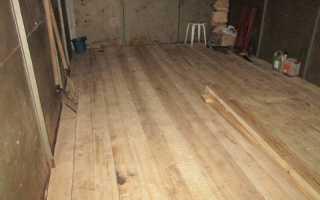 Деревянный пол в гараже расстояние между лагами. Как сделать деревянный пол в гараже своими руками: пошаговая технология монтажа. Особенности напольного покрытия из дерева