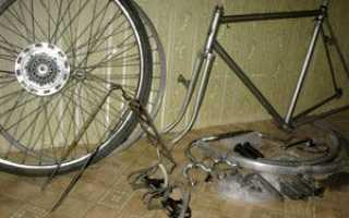 Как разобрать велосипед для перевозки