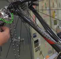 Как установить цепь на велосипед скоростной