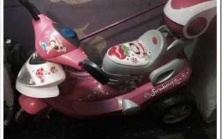 Детский мотоцикл на аккумуляторе как зарядить