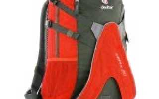 Обзор рюкзака для роликовых коньков Deuter Winx