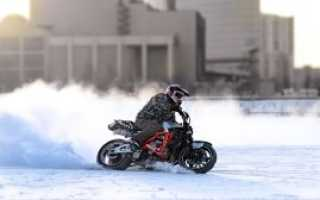 Как завести с толкача мотоцикл