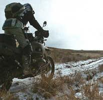 Как держать равновесие на мотоцикле