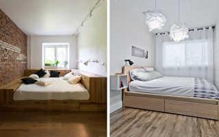 Как разместить кровать в узкой спальне. Дизайн узкой спальной комнаты с окном в конце. Как правильно расставить мебель в узкой комнате