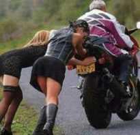 Как мотоцикл заводится