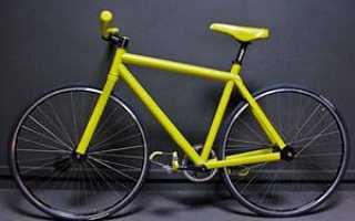 Какой лучше краской красить велосипед