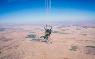 Со скольки лет можно прыгать с парашютом. Прыжки с инструктором и другие важные моменты
