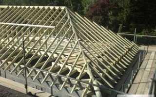 Как делается четырехскатная крыша. Стропильная система четырехскатной крыши: обзор базовых конструкций с описанием типового монтажа. V. Укрепляющие элементы