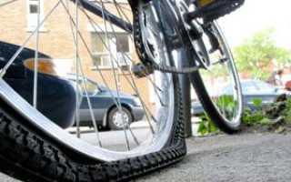 Как правильно накачать велосипедную камеру