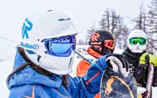 Как нужно выбирать шлем для сноуборда
