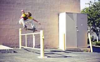 Стильные прыжки на роликах: олли, шифти, олли 180
