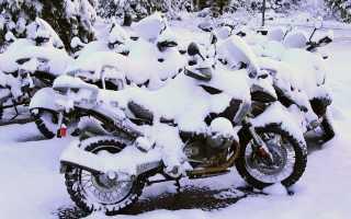 Как на зиму консервировать мотоцикл
