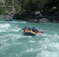 Рафтинг по реке Катунь