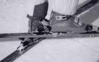 Первые шаги на горнолыжном склоне