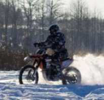Как ездить зимой на мотоцикле
