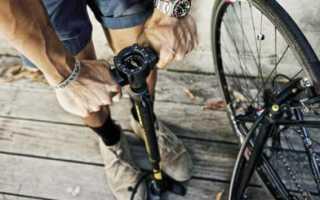Как правильно накачать колесо велосипеда ручным насосом. Как накачивать велосипедные шины