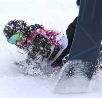 Травмирование коленных суставов на сноуборде