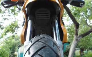 Как разбортировать колесо на мопеде
