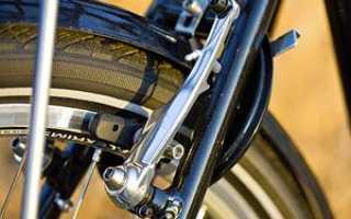 Как поставить задние тормоза на велосипеде