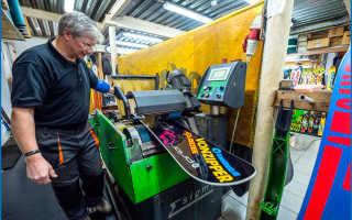 Как отремонтировать скользяк сноуборда или лыж