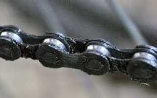 Как смазать цепь велосипеда в домашних условиях