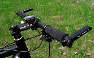 Как поставить рога на руль велосипеда