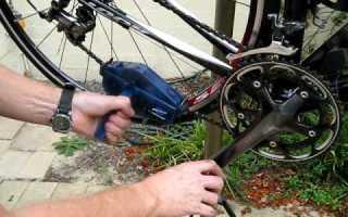 Как чистить цепь велосипеда
