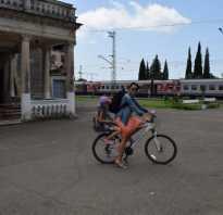 Как перевезти велосипед в поезде дальнего следования