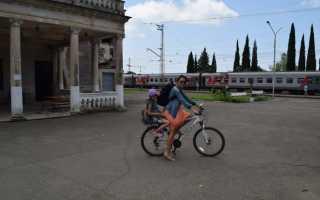 Как перевести велосипед в поезде