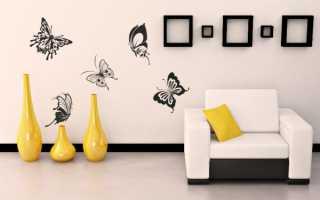 Декор подручными средствами. Декор стен: самые интересные идеи. Не стандартное место для лыж