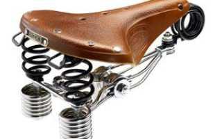 Как правильно установить седло на велосипеде