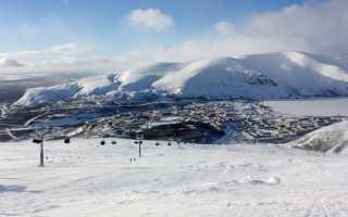 Большой Вудъявр – горнолыжный курорт