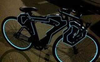 Как своими руками сделать подсветку на велосипед