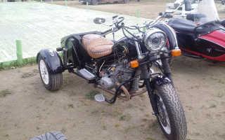 Как мотоцикл урал переделать в трицикл
