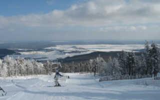 Гора Моховая – горнолыжный курорт на Южном Урале
