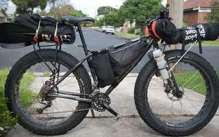 Багажник на горный велосипед как установить