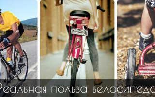 Езда на велосипеде – польза для красоты и здоровья