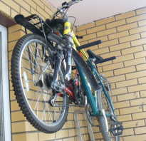 Как сконструировать настенное крепление для велосипеда своими руками