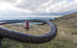 Удаление восьмёрки и яйца на колесе велосипеда
