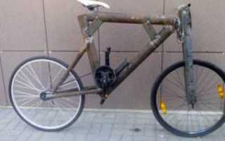 Как для велосипеда сделать