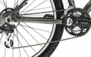 Как снять заднее колесо на велосипеде со скоростями