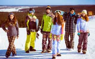Правильный выбор горнолыжной и сноубордической одежды