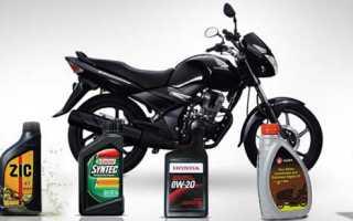 Как проверить уровень масла в мотоцикле