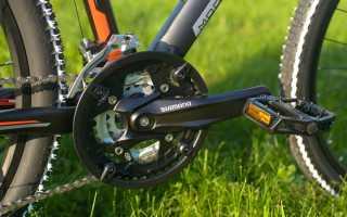 Лёгкий способ снять шатуны с велосипеда