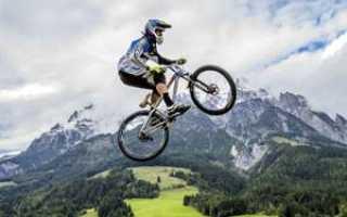 Как на велосипеде прыгать двумя колесами