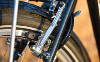 Как убрать скрип тормозных колодок на велосипеде