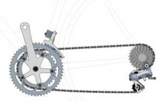 Как переключать передачи на шоссейном велосипеде