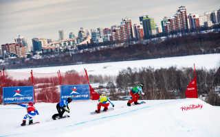 Кубок мира по сноуборд-кроссу рассчитывают проводить в Москве ежегодно