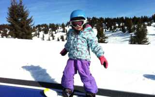 Правильный выбор детского сноуборда
